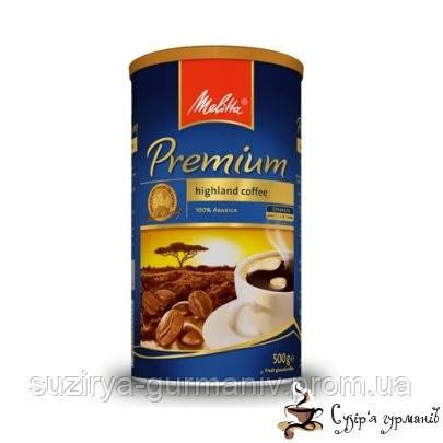 Молотый кофе Melitta «Premium» ж/б 500г