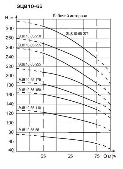 Насос ЭЦВ 10-63-110