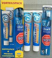 Blend-a-med + Oral-B Набор для чистки зубов зубная паста 2х75мл + зубная щетка Oral-B