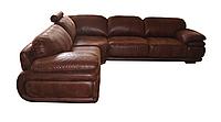 Стильный угловой диван Белладжио  Индивидуальный размер, Не раскладной, экокожа
