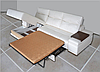 """Кожаный угловой диван """"Ливиньо"""" (335см-185см), фото 6"""