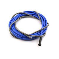 Спираль подающая для сварочного полуавтомата (синяя) для проволоки Ø0,8 (горелка 5 метров)