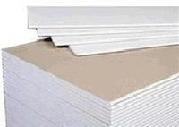 Лист гипокартон стеновой 3х1,2х12,5мм