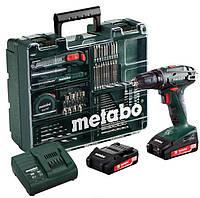 Metabo Аккумуляторный винтоверт BS 18 SET,18 В