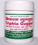 Трифала Гугул, Адарш / Triphala Guggul, Adarsh Ayurvedic / 100 таб