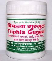 Трифала Гугул, Адарш / Triphala Guggul, Adarsh Ayurvedic / 100 таб, фото 1