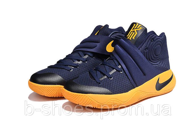 Мужские баскетбольные кроссовки Nike Kyrie 2 (Mid Navy/University Gold)