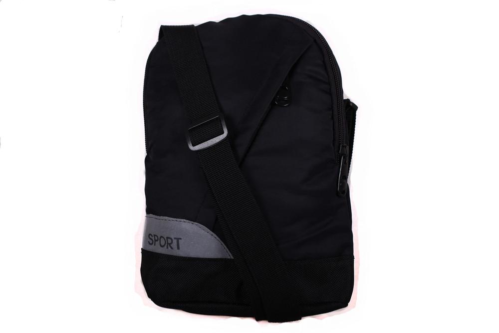 Мужская текстильная сумка 301508 черная
