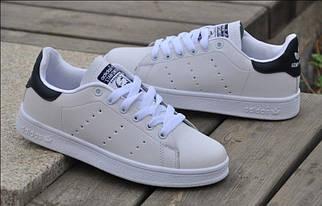 Кроссовки мужские Adidas Stan Smith White Black