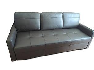 Новый раскладной кожаный диван FX10 B7 (212см), фото 2