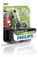 Philips LongLife Ecovision с увеличенным сроком службы / тип лампы H11 / 1шт.