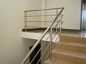 Алюминиевые перила на лестницу, фото 2