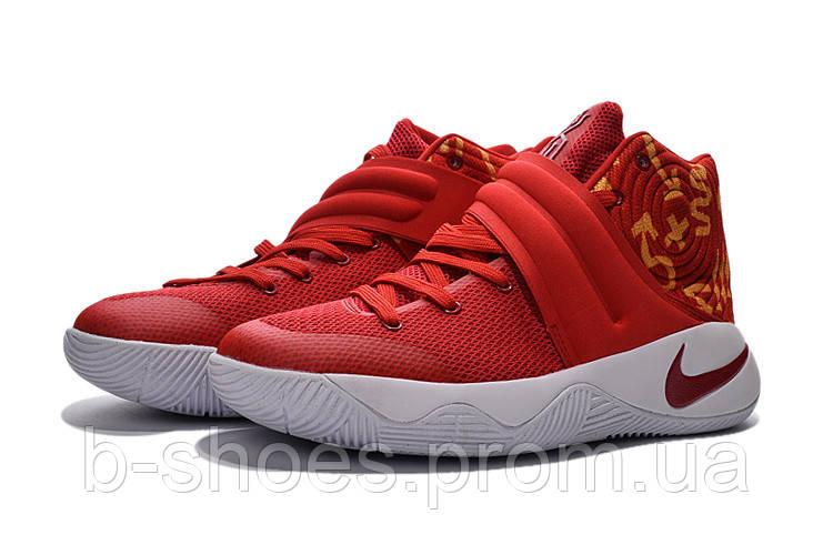 Мужские баскетбольные кроссовки Nike Kyrie 2 (China Red/White)