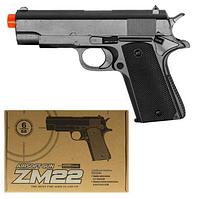 Пистолет пластик+металл ZM 22 стреляет пластиковыми пулями