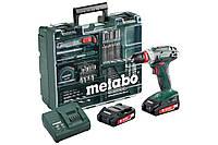 Metabo Аккумуляторный винтоверт BS 18 QUICK SET,18 В