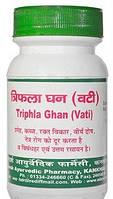 Трифала Гхан Вати, Адарш Аюрведик / Triphala Ghan Vati, Adarsh / 240 таб. - 100г