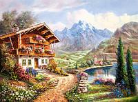 Пазл Дом в горах 2000 деталей С-200511