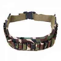 Ремень-патронташ Shotgun Shell Belt De Luxe Woodland