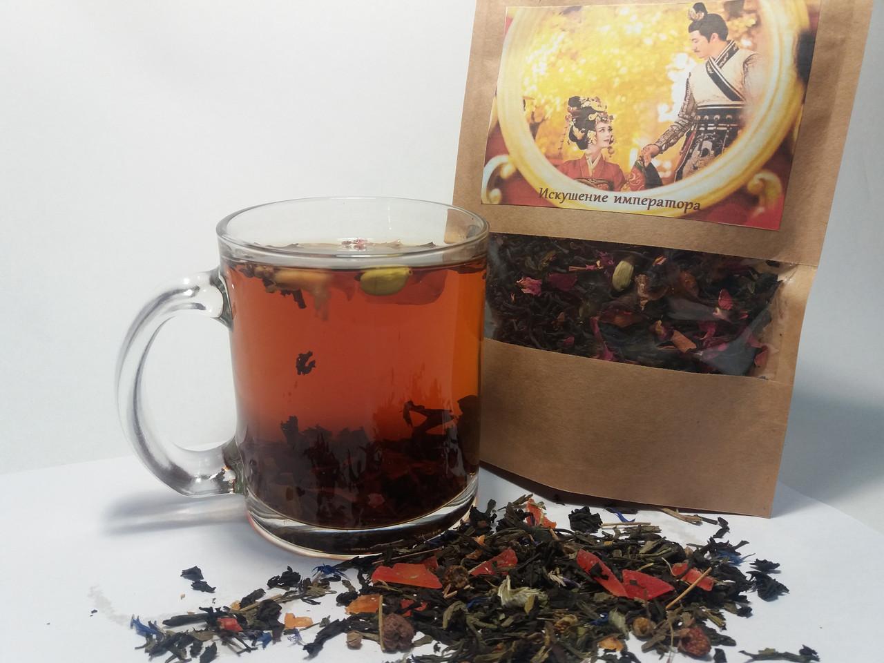 Композиционный на основе черного чая  «Искушение Императора»