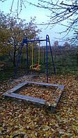 Надежные детские качели с мягкими сиденьями - детские спортивные площадки