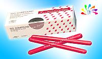 ISO, термопластические палочки для функциональных и перебазировочных слепков, 120 г (15 шт. по 8 г)