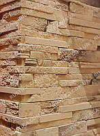Гипсовая плитка для отделки каминов Угловая Валенсия