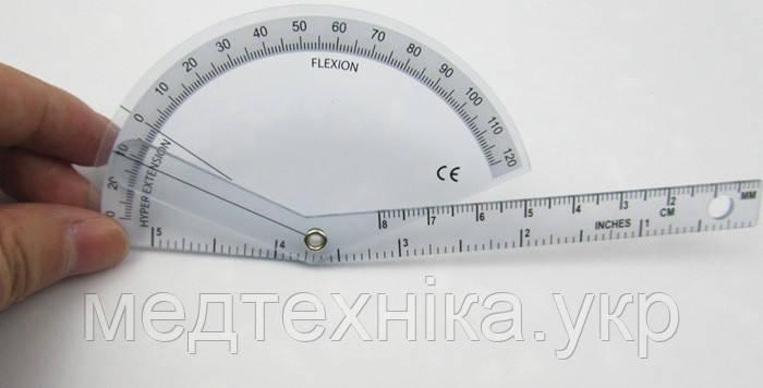 Гониометр линейка для измерения подвижности суставов пальцев