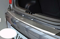 Накладка на бампер с загибом Hyundai I10 2002-
