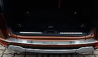 Накладка на бампер с загибом Range Rover Evoque 2013-