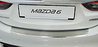 Накладка на бампер с загибом Mazda 6 III 2013-
