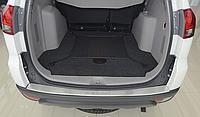 Накладка на бампер с загибом Mitsubishi Pajero Sport II 2011-