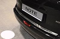 Накладка на бампер с загибом Nissan  Note2006-