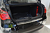 Накладка на бампер с загибом MG 550 4D 2012-