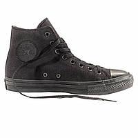 """Кеды Converse All Star Chuck Taylor II High """"Black"""" - Высокие """"Черные"""""""