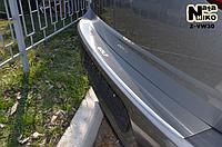 Накладка на бампер с загибом Volkswagen Golf VII 2012-