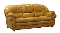 """Кожаный раскладной 3-х местный диван """"Кардинал"""" Sofa (225см)"""