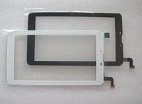 Оригинальный тачскрин / сенсор (сенсорное стекло) для Nomi C07006 Cosmo+ (белый цвет, самоклейка)