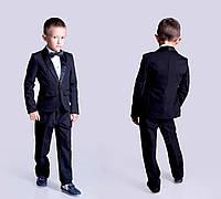 Школьный костюм смокинг Черный для мальчика