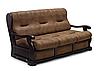 """Прямой раскладной диван в коже """"Триумф"""" (195см), фото 2"""
