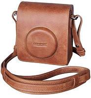 Защитный кожаный чехол для фотоаппарата OLYMPUS LEATHER CASE FOR STYLUS, 6260549, коричневый