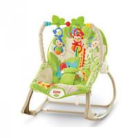 Fisher-Price Массажное кресло-качалка Веселые обезьянки