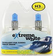 Автомобильная лампа 8399 H3 12V 55W PK22s EXTREME WHITE twin boxes Bosma