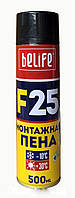 Всесезонная монтажная пена BeLife F25 500мл
