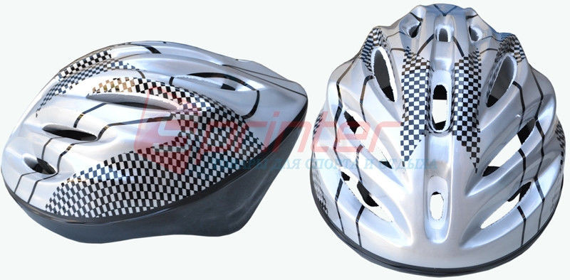 Защитный шлем для скейтбордистов, роллеров, велосипедистов. Цвет: серый.