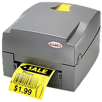 Принтер этикеток Godex EZ-1100 plus с отделителем этикетки