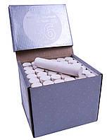 """Мелки школьные белые """"ЛК"""" (36шт) круглые, в картонной коробке"""
