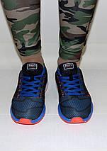 Кроссовки женские синие Nike Zoom сетка реплика, фото 2
