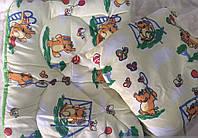 Одеяло детское силиконизированое волокно + подушка