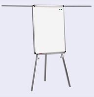 Флипчарт магнитно-маркерный на треноге Standard с дополнительными планками 70х100см, фото 1