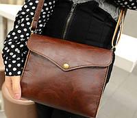 Коричневая сумка Prada
